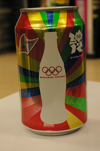 olympics sponsorship pop can